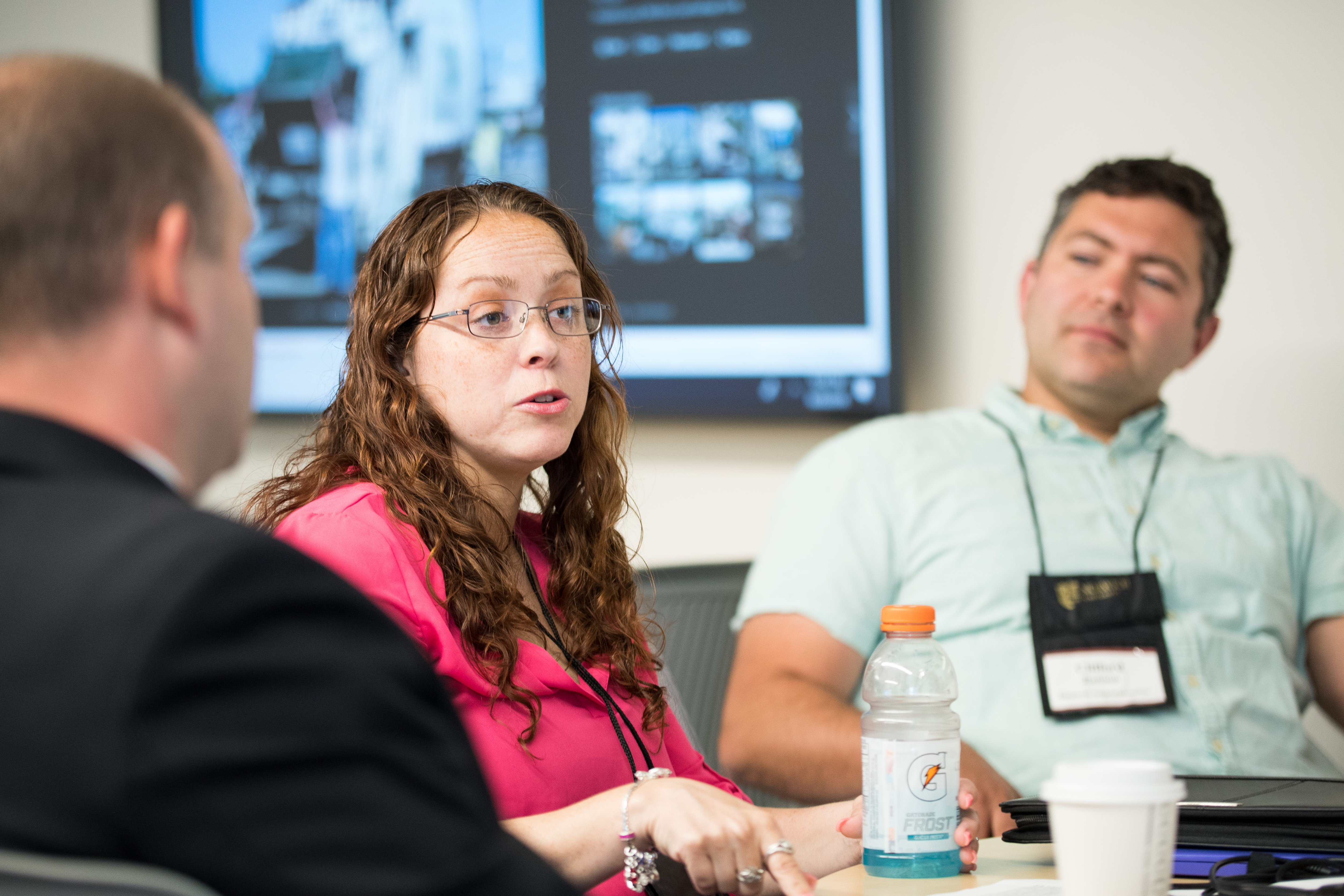 students participate in leadership summit on campus