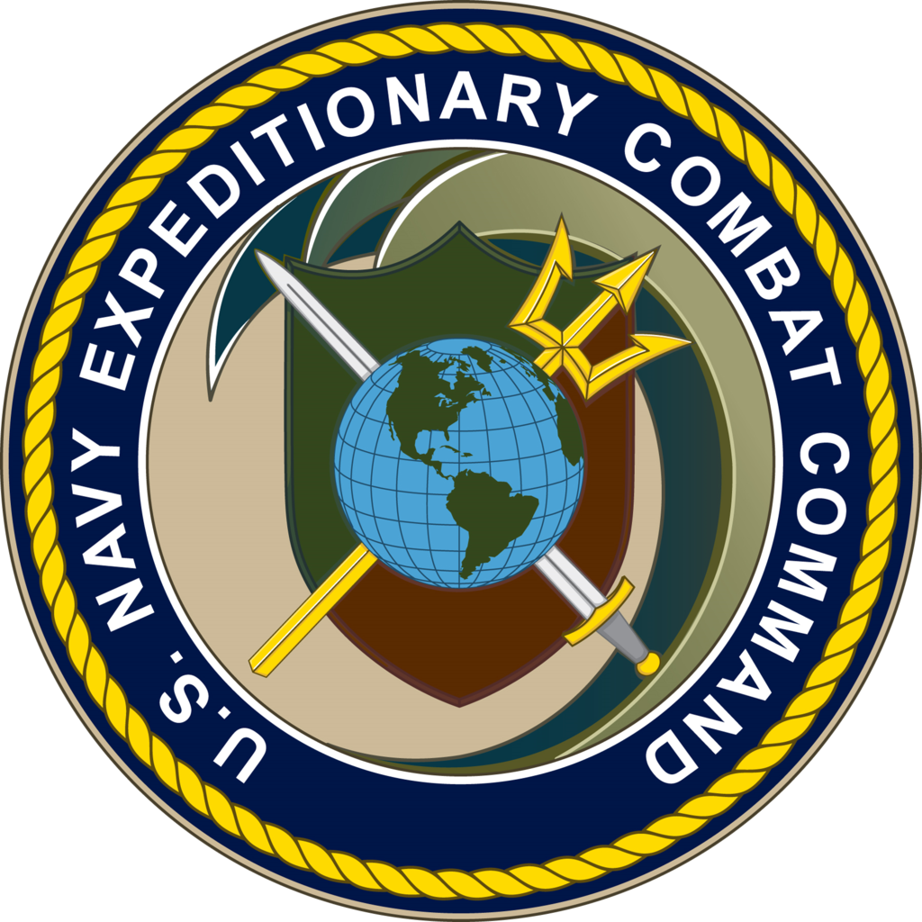 Seal of the U.S. Navy Expeditionary Combat Command
